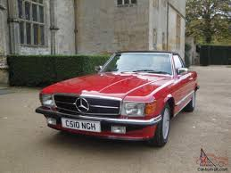 classic mercedes classic mercedes 280sl red sports convertible