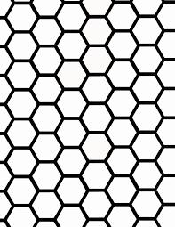 hexagon chalkboard landeelu com