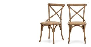 Made Dining Chairs Set Of 2 Dining Chairs Oak Rochelle Made
