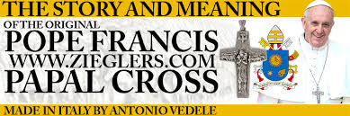 the original pope francis papal pectoral cross and meaning