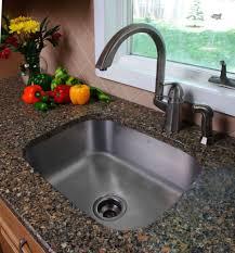 kitchen stainless steel drop in sink square design granite