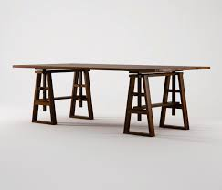 trestle dining table dining tables from karpenter architonic