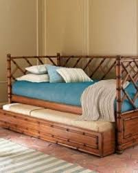 Daybed Trundle Bed Wicker Daybed With Trundle Foter