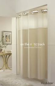 Hookless Shower Curtains On The Right Track Hookless Shower Curtains