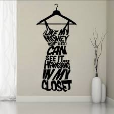 Bedroom Wall Hangers Aliexpress Com Buy Diy English Letter Vinyl Wall Stickers