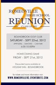 high school class reunion invitations high school reunion invitations the front class reunion 80 s