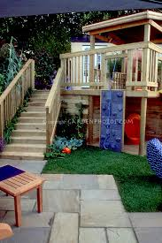 backyard deck and patio for children plant u0026 flower stock