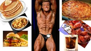 massive cheat day post bodybuilding contest prep fat loss diet