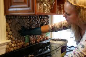 kitchen garden stone kitchen backsplash tutorial