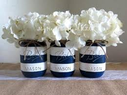 nautical baby shower decorations for home navy and gold nautical baby shower centerpieses painted mason jars