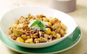 cuisiner les gnocchis gnocchis aux chignons et à la viande hachée cuisine et recettes