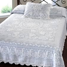 Green Matelasse Coverlet Bedroom Matelasse Bedspreads With Beautiful Colors And Very