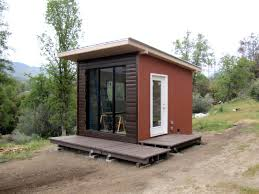 architecture modern tiny house design come with espresso wall