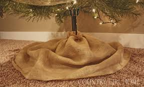 burlap christmas tree skirt christmas ruffled christmas tree skirt on the diy