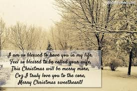 i am so blessed to have christmas message for husband