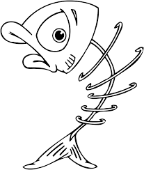 cartoon fish pictures to color