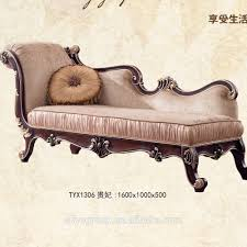 Bedroom Sofa Chair Tyx601 European Style Antique Chaise Lounge Sofa Chair For Bedroom