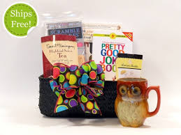Gift Baskets With Free Shipping Take A Break Staycation Gift Basket Get Well Gift