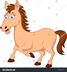 horse cartoon character stock vector 162484313 shutterstock