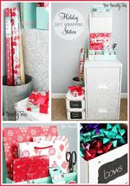 present wrapping station wrapping station gifts chalkboards sewing rooms