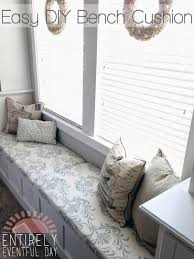 Cushions For Window Bench Best 25 Bench Cushions Ideas On Pinterest Breakfast Nook