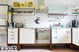 ikea k che schwarz küchen makeover was n glanzstück unsere selbstgebaute ikea küche