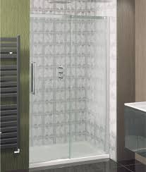 Easy Clean Shower Doors Ten 1200mm Single Slider Shower Door With Easy Clean Glass