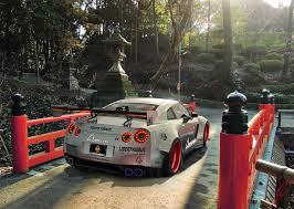 nissan gtr liberty walk wallpaper nissan gtr r35 liberty walk silver rear japan sport car hd wallpaper