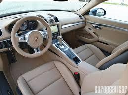 Porsche Boxster Interior - car picker porsche cayman interior images