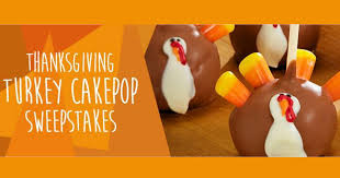 win a 1 800 baskets thanksgiving turkey cake pops prize pack