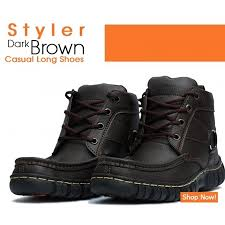 buy boots pakistan styler brown casual shoes shopping in pakistan