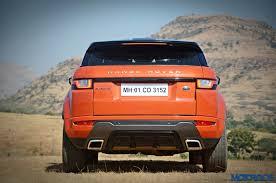 land rover orange range rover evoque 2 2 diesel review bling thing motoroids