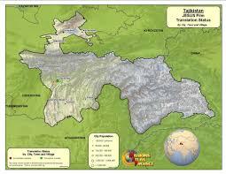 Tajikistan Map Tajikistan Worldmap Org