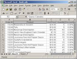 ms excel 2003 freeze first row and first column