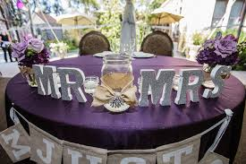 best purple and gray wedding theme contemporary styles ideas Purple Table L