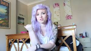 raw hair coloring tips how to dye your hair pastel lilac lavendar violet youtube