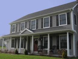 colonial front porch designs colonial hpuse with porch beautiful front porch center