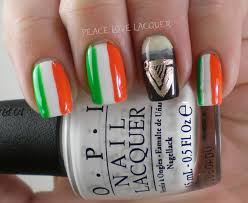 Guinness Flag Peace Love Lacquer Luck Of The Irish Nail Art Challenge Day 5