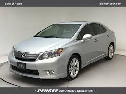 lexus sedan 2010 used lexus hs 250h 4dr sedan hybrid at bmw of austin serving