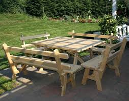 Diy Small Round Wood Park Picnic Table With Detached Octagon Bench by Articles With Picnic Tables Separate Benches Tag Picnic Tables