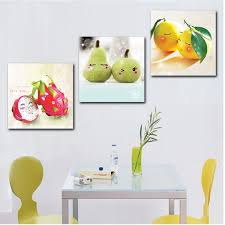 painting for kitchen happy fruit 3 hot sell modern kitchen wall painting home