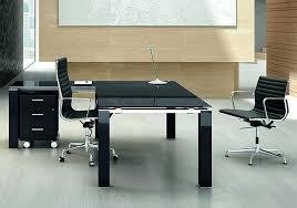 bureau direction verre bureau verre design contemporain bureau verre et bois bureau