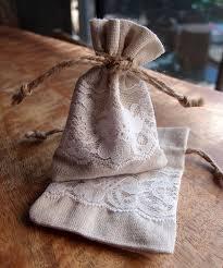linen favor bags 3 x 4 linen favor bags with jute draw dozen b981 02 4 45