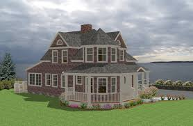 seaside cottage traditional house plan new england country cape