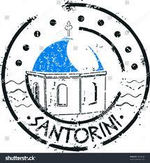 santorini l shaped computer desk stamp greece santorini stock vector 78810940 shutterstock