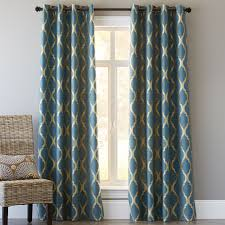 Pier One Paisley Curtains by Moorish Tile Curtain Teal Pier 1 Imports Dream Home