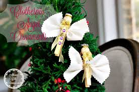 diy clothespin ornaments at home with jemma
