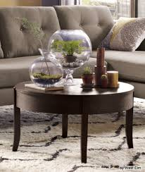 coffee table decor enchanting decorating a round coffee table with how to decorate a