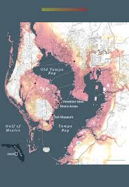 Map Of Phoenix Metro Area by Sea Level Rise Could Destroy Tampa Bay If A Major Hurricane Hits