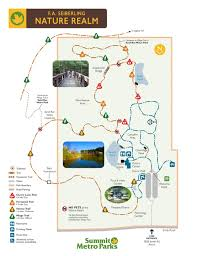 Blossom Music Center Map F A Seiberling Nature Realm Summit Metro Parks